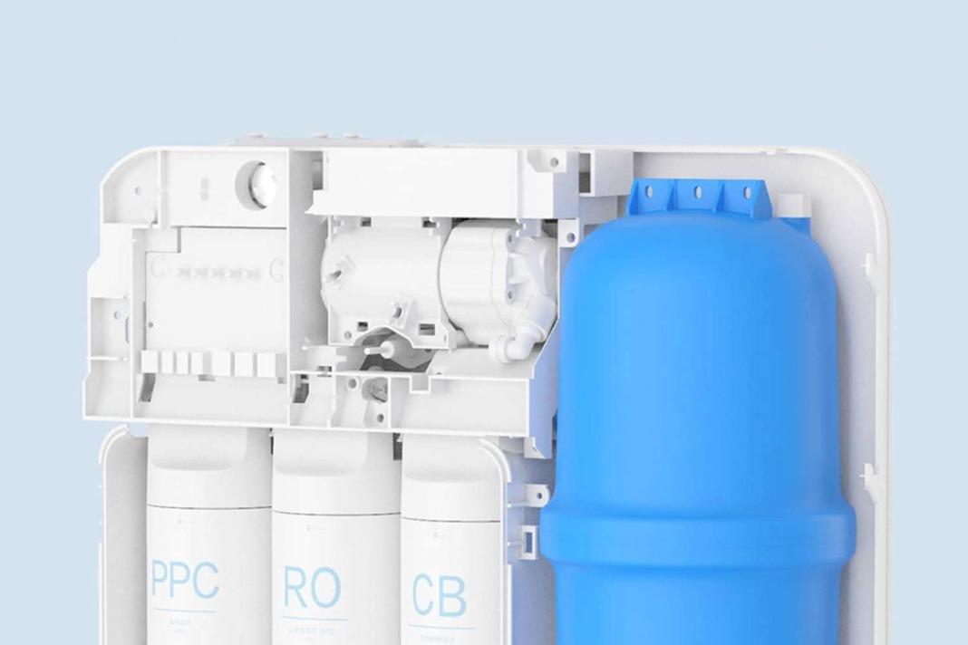 Xiaomi выпустила очиститель воды Mi Water Purifier Lentils, фильтрующий 1 литр за 1 минуту