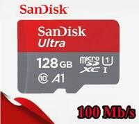 Карта памяти Sandisk Ultra microSDXC 128 GB 100MB/s Class 10 UHS-I 667X